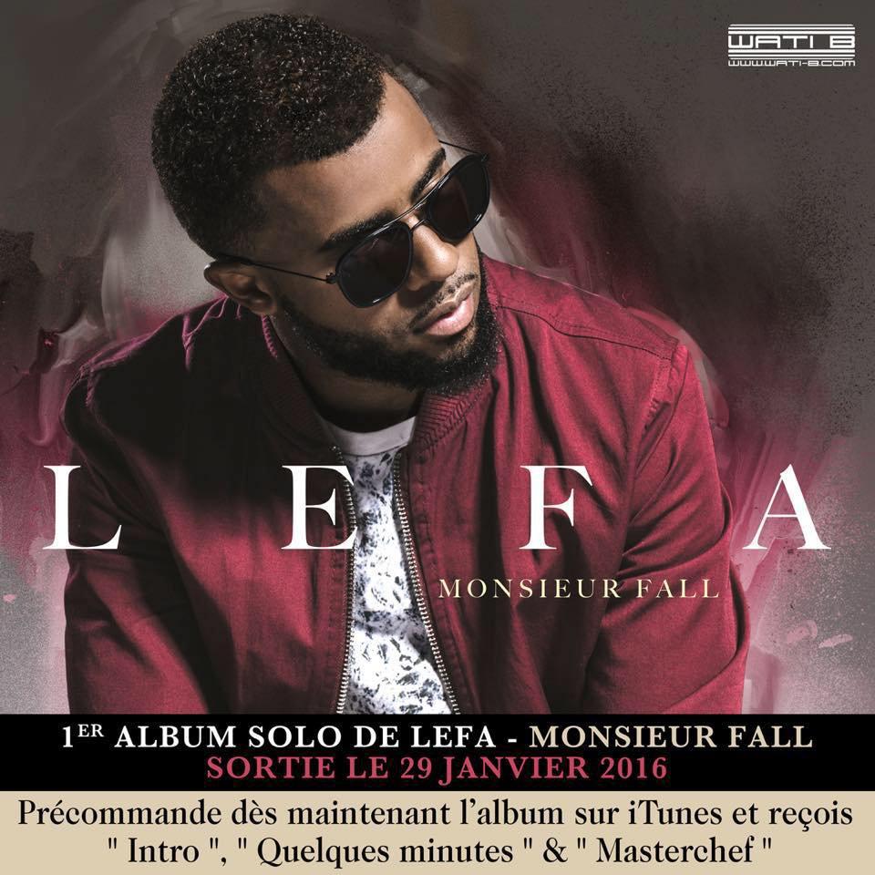 Lefa balance la date de sortie de son premier album solo