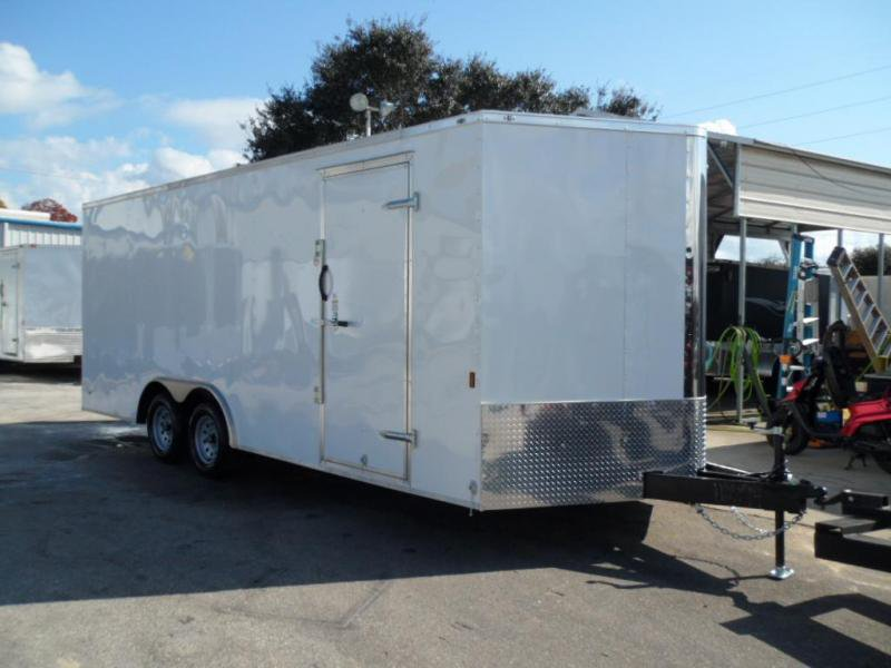 enclosed race trailers for sale
