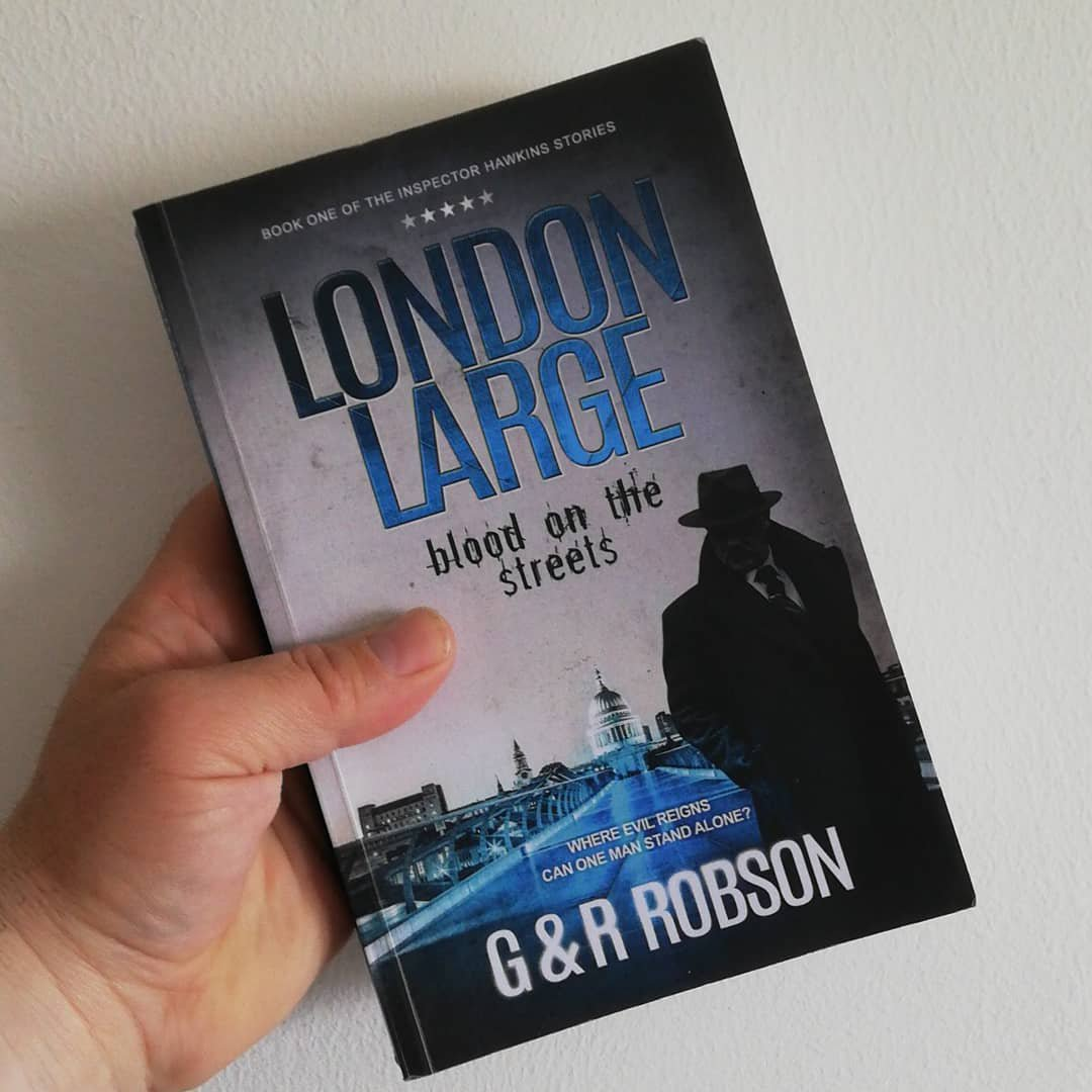 "Alex Bloodfire on Instagram: ""I've just bought 'London Large blood on the streets' by G&R Robson (Gary and Roy Robson) Looking forward to reading it soon! #amreading…"""
