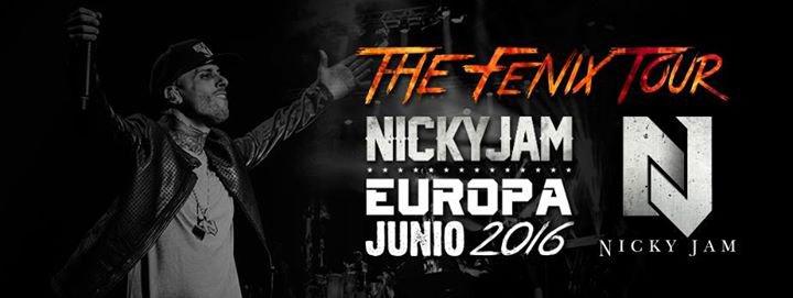 Nicky Jam en concert le  juin  a Lausanne Suisse