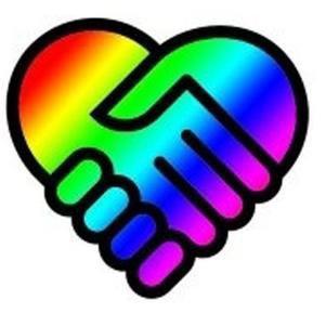 vive la vie . Dites non à l'homophobie ! ensemble pour un monde meilleur .