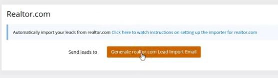 Auto Import your leads from realtor.com® - Profusion360
