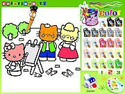play hello kitty games