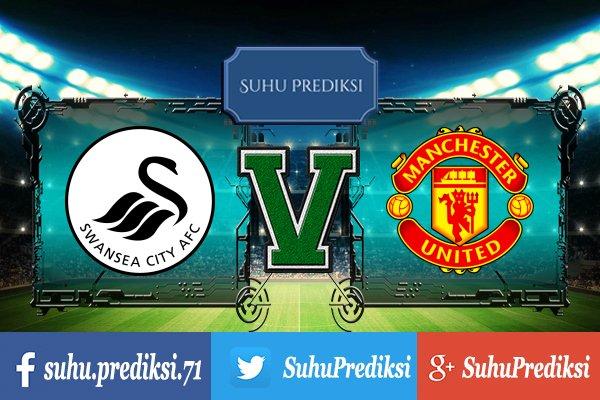 Prediksi Bola Swansea City Vs Manchester United 19 Agustus 2017