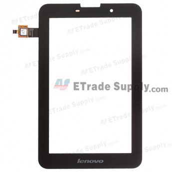 Lenovo Idea Tab A3000 Digitizer Touch Screen - Black - With Lenovo Logo