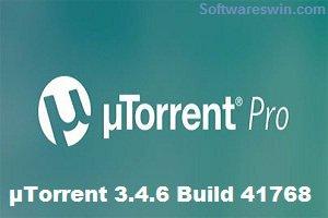 µTorrent 3.4.6 Build 41768 Pro + Beta Crack Free Download