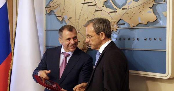 La visite de parlementaires français en Crimée suscite un tollé