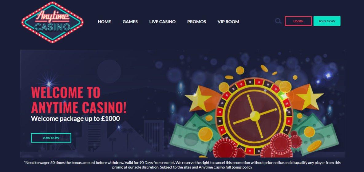 Best New Casino Site Anytime Casino
