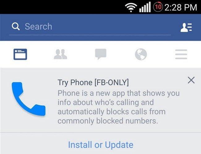 Facebook teste une appli de téléphonie qui bloquerait les appels indésirables