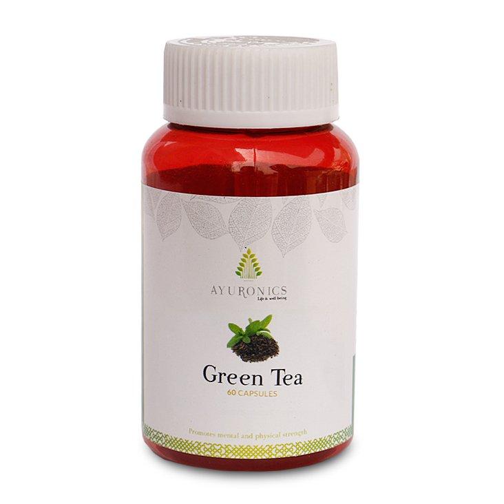 Green Tea Capsules - Green Tea Tablets- Ayuronics