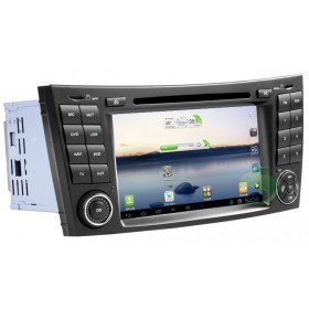 Android 4.0 Auto DVD Player GPS Navigationssystem für Mercedes-Benz CLS W219(2004-2011)(CLS350 CLS500 CLS550)
