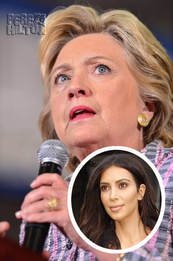 Hillary Clinton Speaks Out About Kim Kardashian's Terrifying Paris Robbery! WATCH HERE!