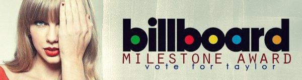 Taylor est nominée dans plusieurs catégories  au Billboard Music Awards.
