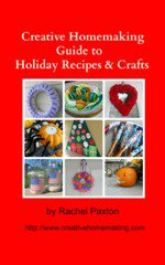 Creative Homemaking E-Books for Sale