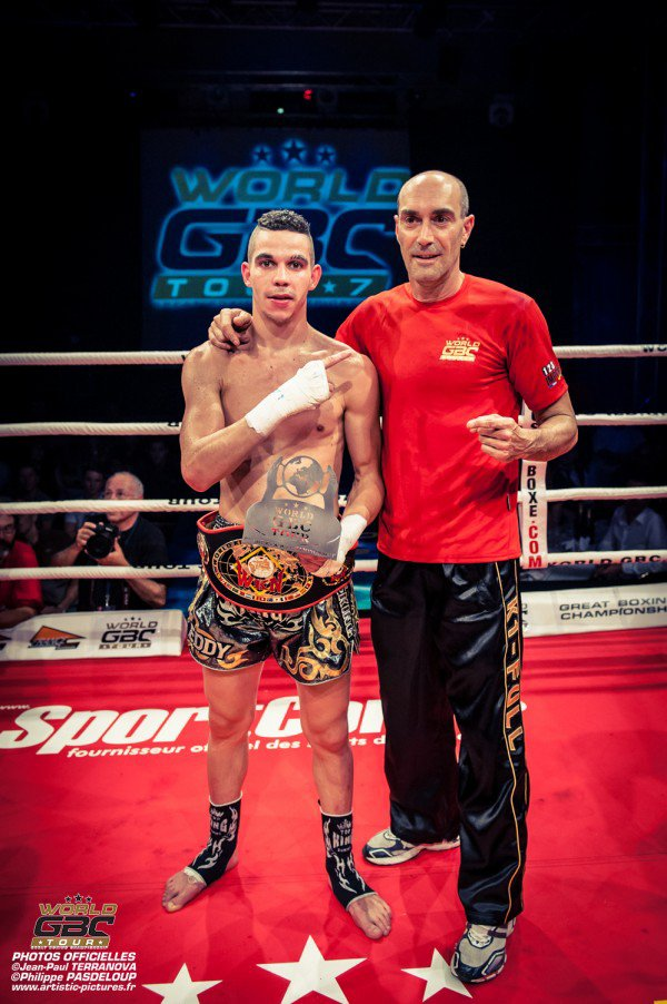 Eddy Nait Slimani Stops Antoine Habash & Claims WKN Title | Fightmag.net