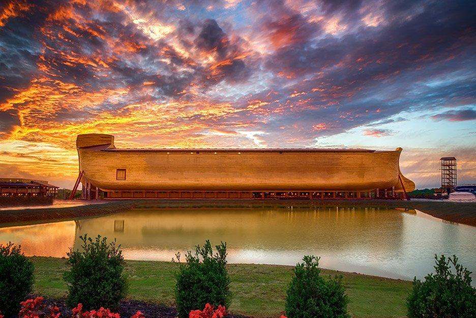 Le parc d'attraction américain sur l'Arche de Noé est victime d'une inondation