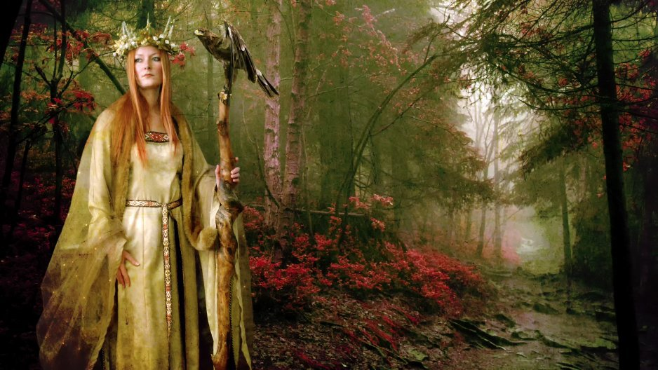 Les druides et la mythologie celtique