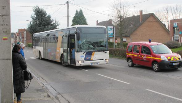 Solesmes: la Piatonnaise percutée par un bus se trouve entre la vie et la mort
