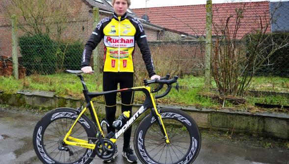 Cyclisme - 1, 2, 3, juniors: une première course sur route à Feignies pour Théo Hoez