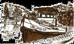 Vif Argent | Gîte bâteau sur la Meuse, à Namur en Belgique