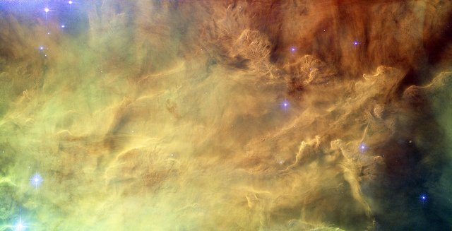 Hubble reveals heart of Lagoon Nebula