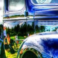 American vintage car ♫