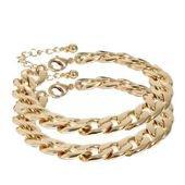 Bracelet chaîne en or, homme/femme, ajustable sur PriceMinister