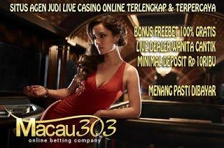 IDN SPORTSBOOK MACAU303: Situs Judi Online Kredit Withdraw Tukar Pulsa XL Telkomsel Indosat