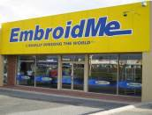 Uniform logo embroidery