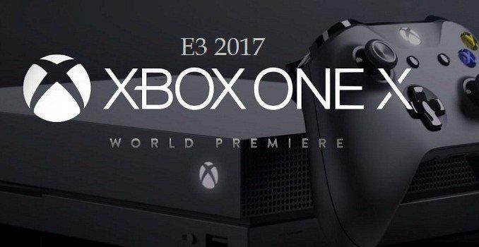 E3 2017 Xbox One X: La console la plus puissante du marché