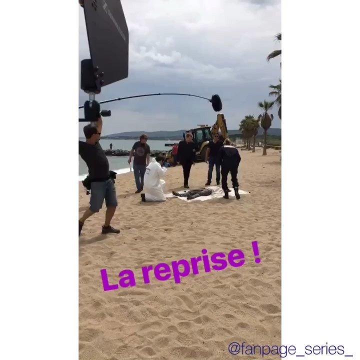 "Katja • Corinne ??? on Instagram: ""?Section de Recherches ?? Reprise du tournage pour la saison 13 ?? @xavierdeluc @francksemonin01 @honorinemagnier @elisetielrooyoff ?..."