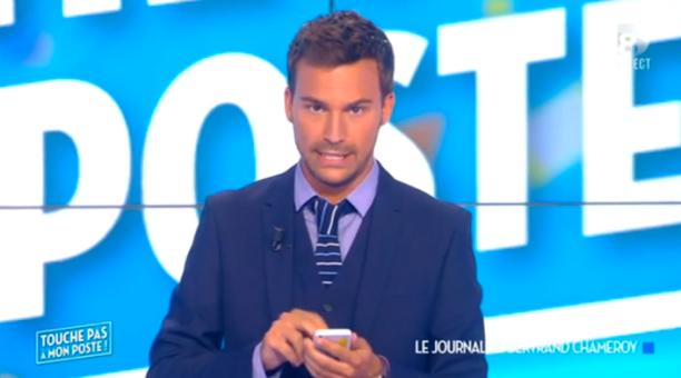 Bertrand Chameroy (ex-TPMP) débarque sur W9 Actu - Télé 2 Semaines