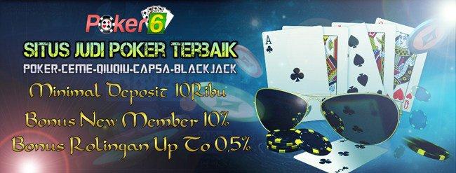 Judi Kartu Poker Domino QQ Online Terpercaya 2017