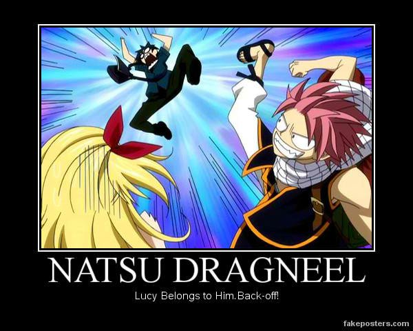 Lucy belongs to Natsu by ~lillia-hime on deviantART