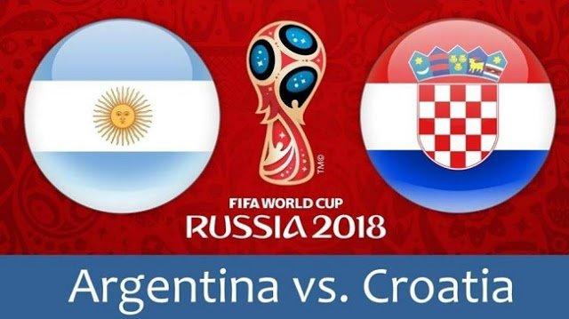 Argentine Vs Croatia Live 2018 - Cup World Russia 2018