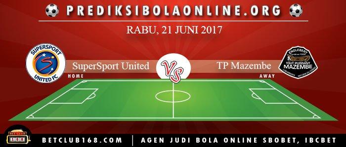 Prediksi SuperSport United Vs TP Mazembe 21 Juni 2017