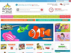 Avenuedesjeux : Le spécialiste des jeux et jouets en ligne pour les enfants