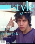 """A Fake Magazine Cover Using """"STYLE"""" Created on February 02nd, 2012"""