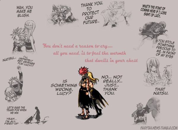 This arc shows me, how wonderful Nalu really is!