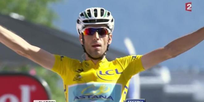 Vidéo : la victoire Nibali à Chamrousse - Tour de France