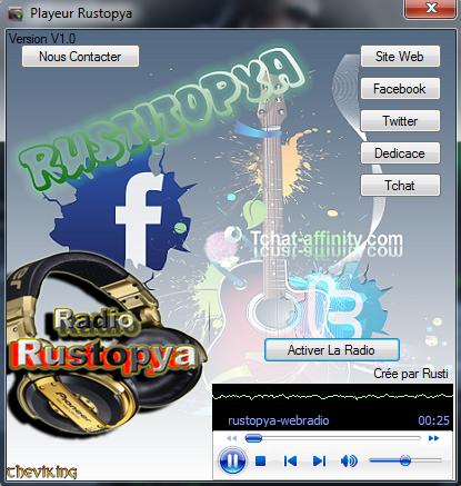 Rustopya : Téléchargements