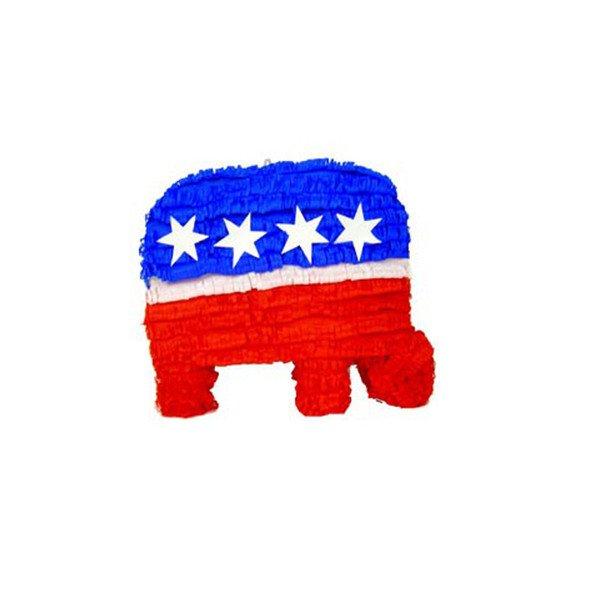 Patriotic Republican Elephant Pinata