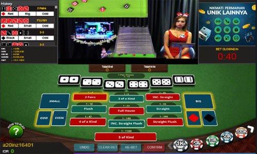 Agen Judi Online Live Poker Dice Terbesar Dan Terpercaya