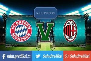 Prediksi Bola Bayern Munchen Vs AC Milan 22 Juli 2017