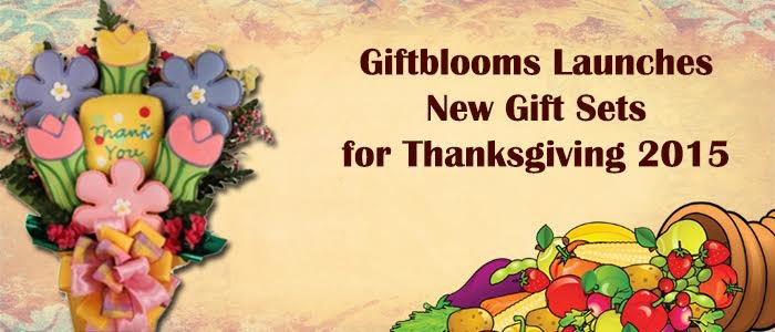 Giftblooms Launches New Gift Sets For Thanksgiving 2015