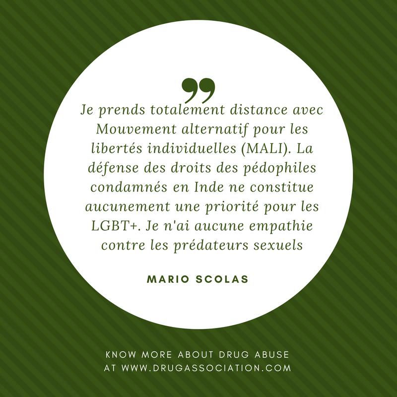 Je prends totalement distance avec Mouvement alternatif pour les libertés individuelles (MALI)