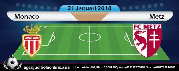 Prediksi Monaco Vs Metz 21 Januari 2018