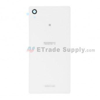 Sony Xperia M4 Aqua Battery Door White - ETrade Supply