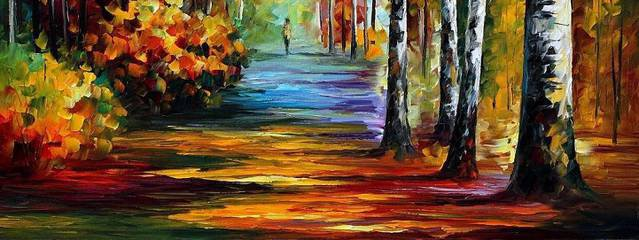 Autumnal and Colorful Oil Paintings