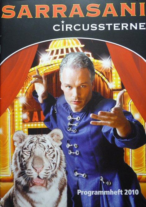 Nouveauté à vendre : Programme cirque SARRASANI 2010